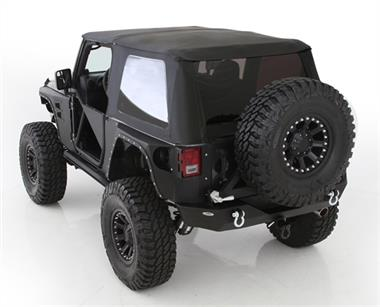 Smittybilt JK Bowless Combo Soft Top Kit with Tinted Windows