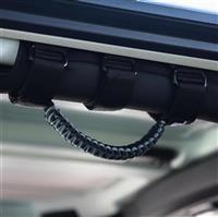 BARTACT Black/Graphite Paracord Grab Handle - Roll Bar