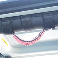 BARTACT Black/Pink Paracord Grab Handle - Roll Bar