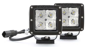 Pro Comp LED 2X2 SQUARE 3W LED SPOT PAIR
