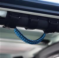 BARTACT Black/Blue Paracord Grab Handle - Roll Bar