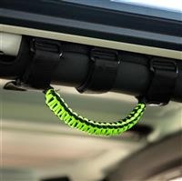 BARTACT Black/Gecko Paracord Grab Handle - Roll Bar