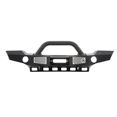 Smittybilt JK XRC Atlas Front Bumper with Grill Guard and Fog Light Holes