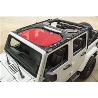 Rugged Ridge RED Eclipse Sun Shade Top JK/JKU
