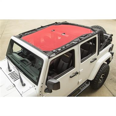 Rugged Ridge RED JKU Eclipse Sun Shade Top JKU