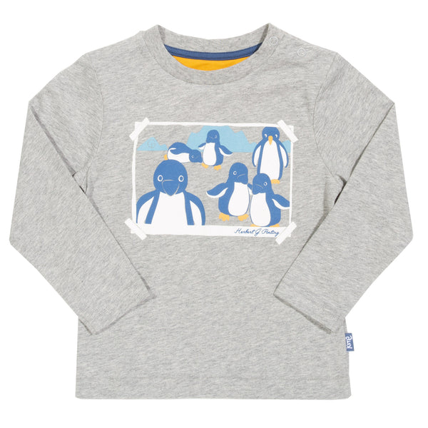 Kite - Langarm-Shirt Pinguine