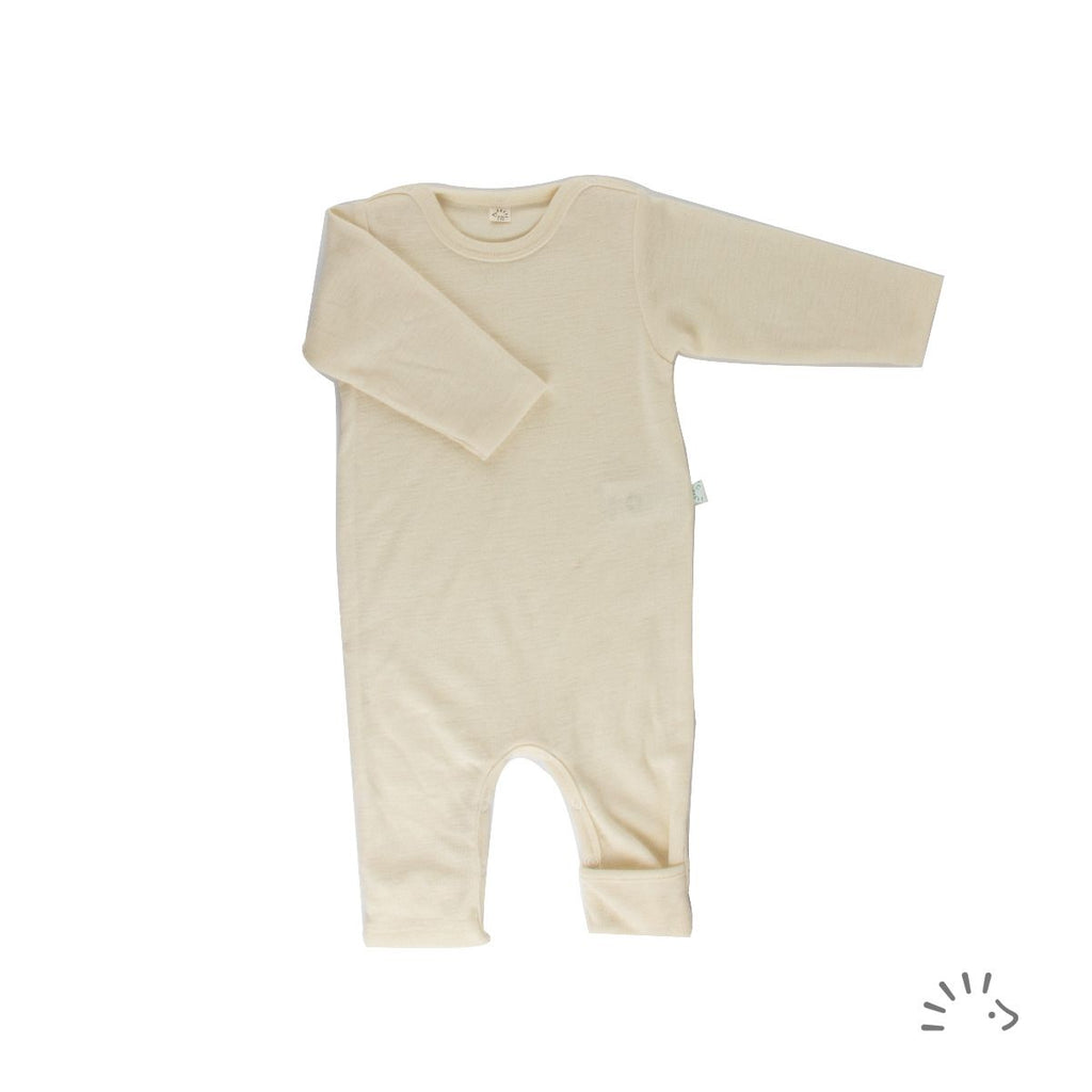 iobio - Overall creme Wolle