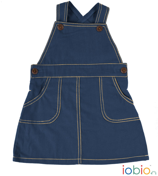 iobio - Latz-Kleid Farmer Denim Soft