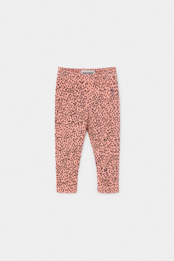 Bobo Choses Leopard Pink Leggings