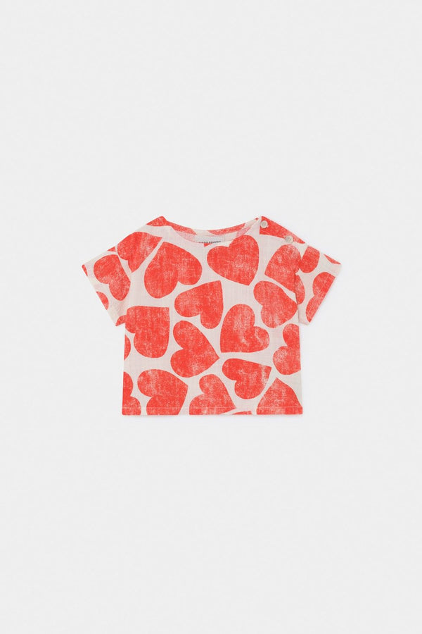 Bobo Choses All Over Hearts Blouse