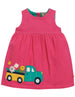 Frugi - Lily Cord Dress Flamingo/Flower Truck