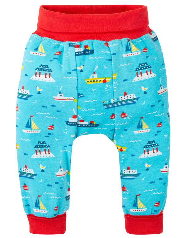 Frugi - Parsnip Pants Sail the Seas