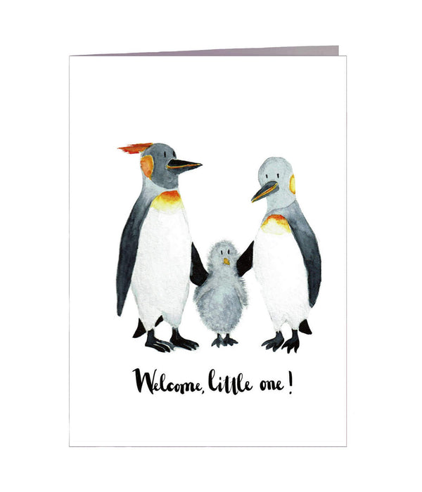 Karte Welcome little one von Pablo&friends
