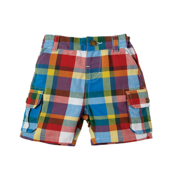 Frugi - Shorts Scilly Check 0-3M