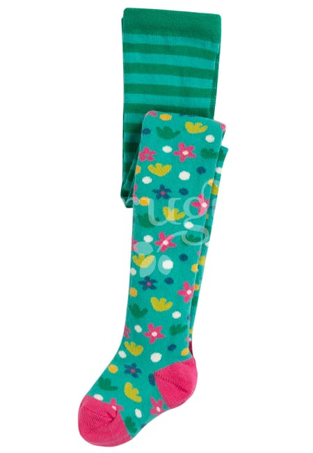 Frugi - Little Norah Tights Ditsy Floral