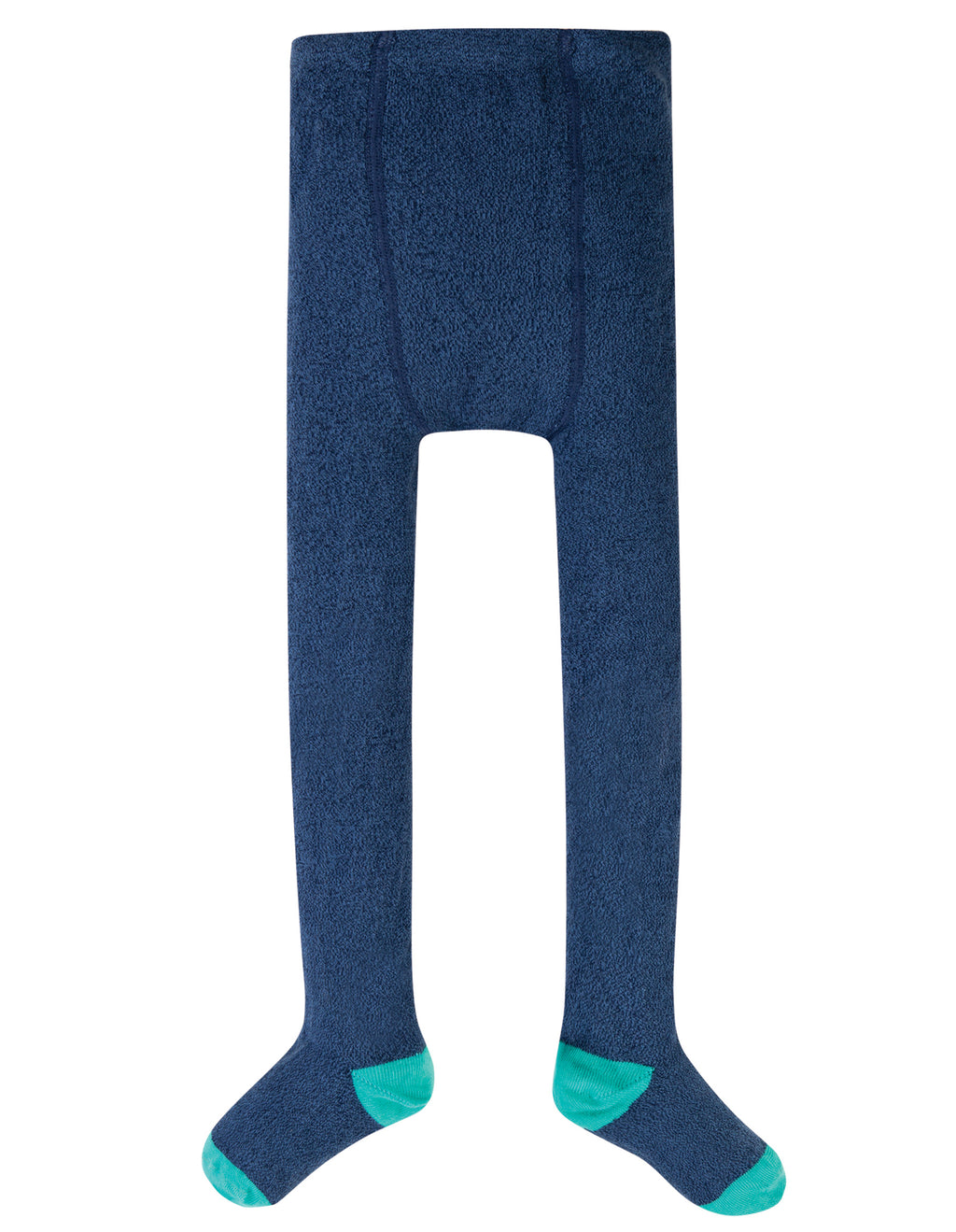 Frugi - Tamsyn Heather Tights Space Blue Nepp