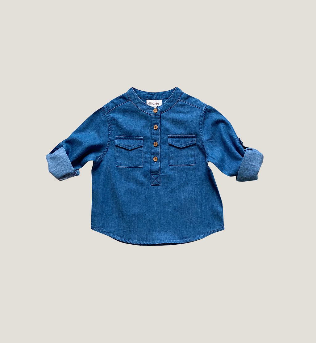 Odieé - Shirt Willy Denim