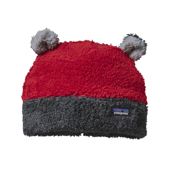 Patagonia Baby Mütze Furry Friends Classic Red