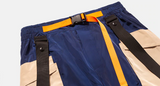 Color Block Harlem Pants (orange belt)