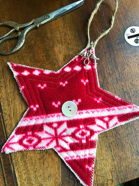 memory keepsake star ornament