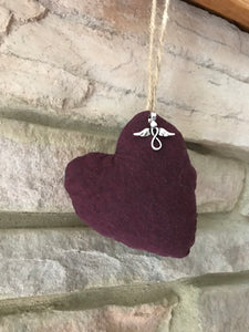 Custom Memory Keepsake Heart Ornament