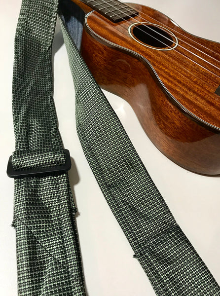 Adjustable Ukulele Strap (moss green)