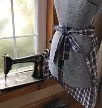 apron made from shirt