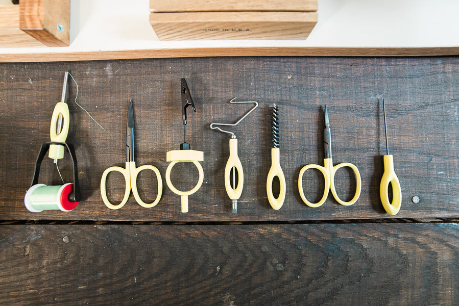 Loon Outdoors fly tying tool kit: ergonomics and performance on a budget.