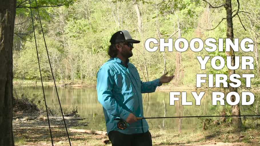 Choosing your first fly rod