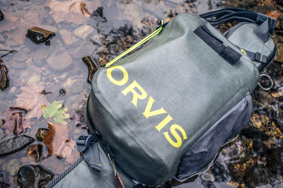Orvis Waterproof Hip Pack: No More Soggy Crackers