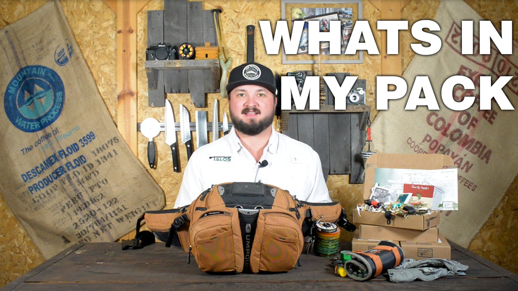 Whats in my pack? Trout Essentials