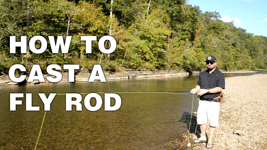 How to cast a fly rod