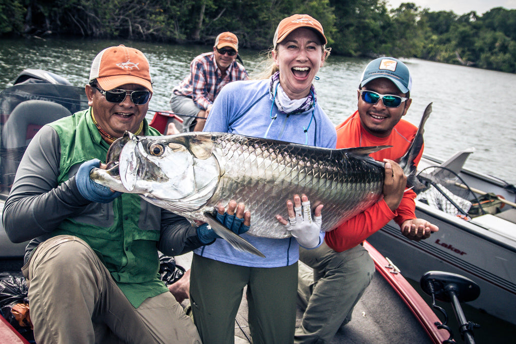 Fly Fishing for Tarpon in Tabasco Mexico