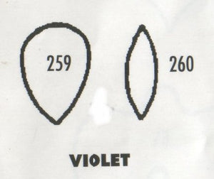 Violet 259/260 (15mm)  TinkerTech Two Cutters