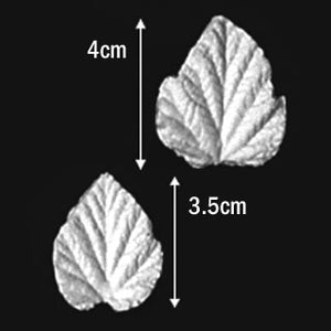 Great Impressions (SK) Leaf Veiners - Bramble-Wineberry - set of 2 4cm/3.5cm.  GM01B007-01