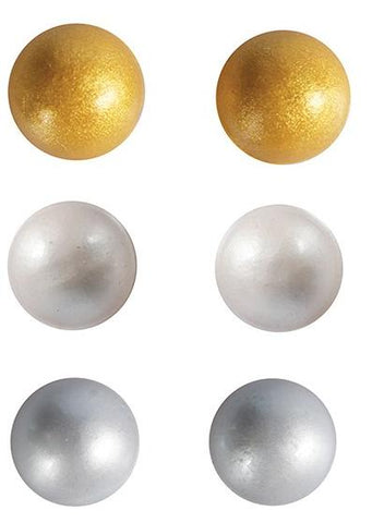 Metallic Jelly Pearls
