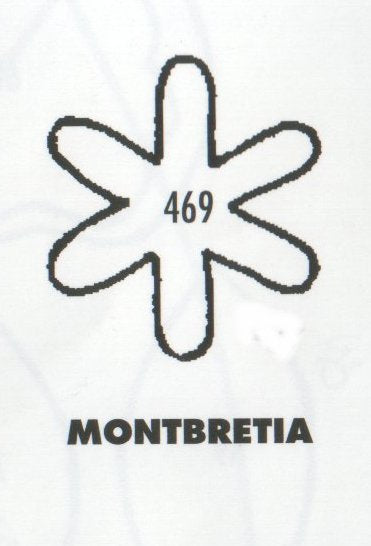 Montbretia 469 (25mm).  TinkerTech Two Cutters