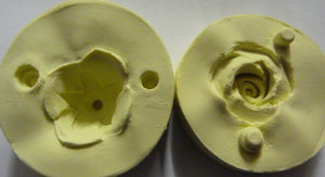 Diamond Paste Moulds - Rose and Caylx 3D