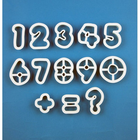 PME Cutters - Numbers (set of 13)