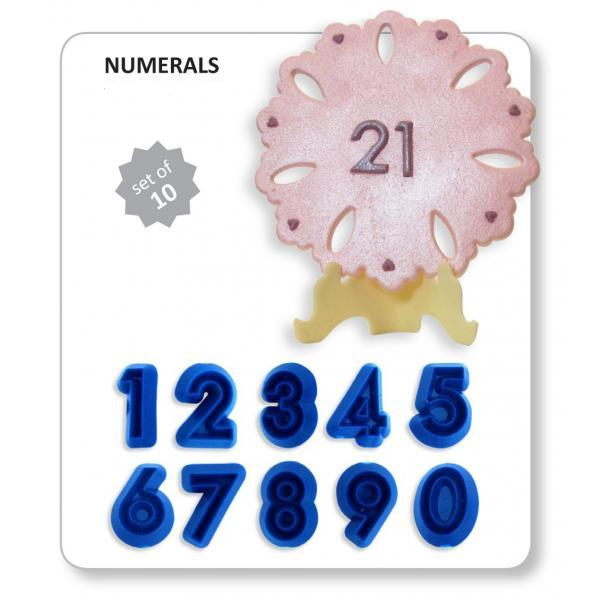 Jem Cutters - Numerals set of 10  (A1)