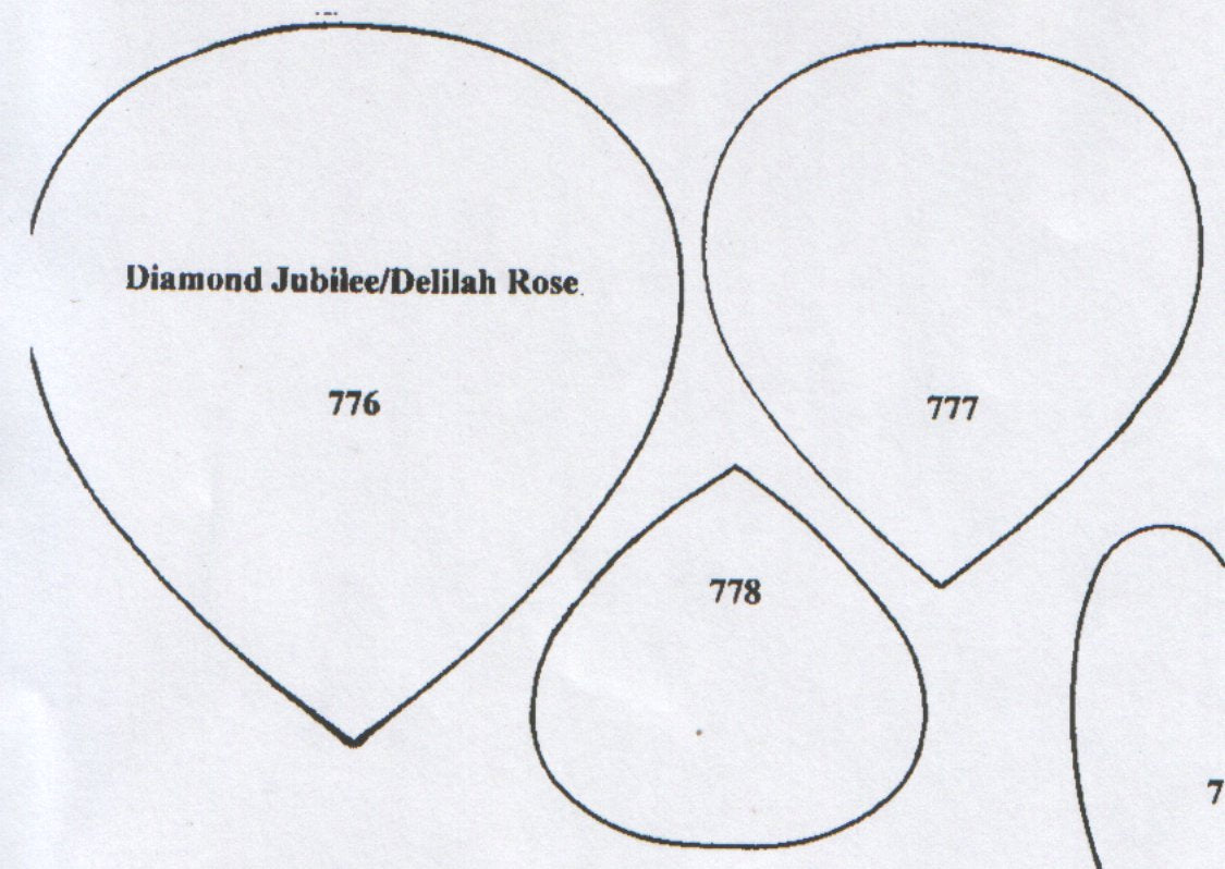 Rose Diamond Jubilee/Delilah 776/777/778 (85mm, 75mm, 60mm)  TinkerTech Two Cutters