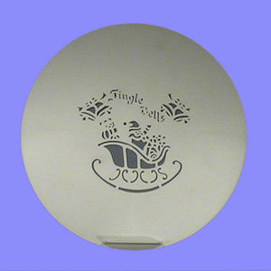 PME Stencil Jingle Bells