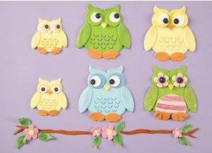 Patchwork Cutters - Owls.