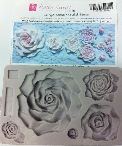 Karen Davies Mould - Large Rose