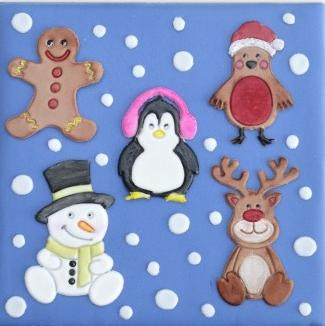 Patchwork Cutters - Cute Christmas Characters