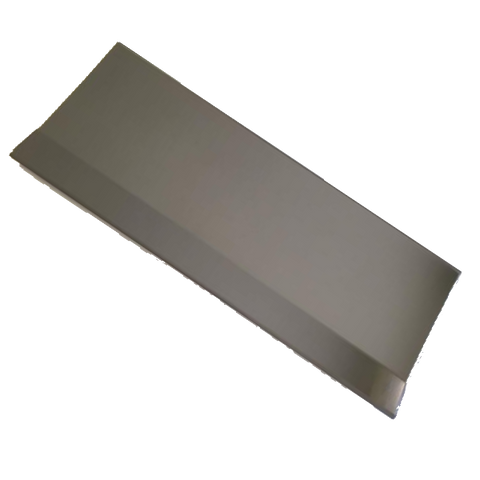 "10"" Side Scraper - Stainless Steel - Pullinger SS7"