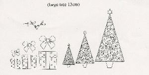 Patchwork Cutters - Christmas Trees/Parcels