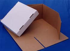 "Cake Box  - Stacked Box 12"" high"