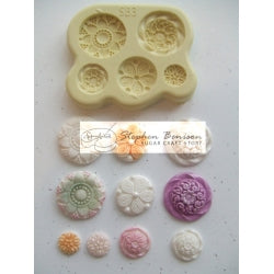Benison Moulds - Decorative Button Accent (SB3)