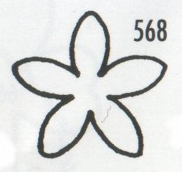 Stephanotis 568 (17mm)  TinkerTech Two Cutters